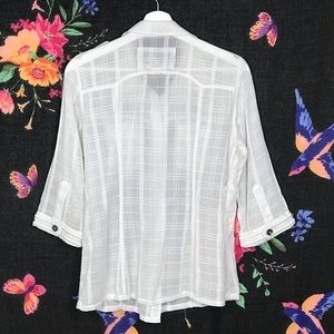 Da-Nang Tops - Da Nang Button Down Shirt Embroidered
